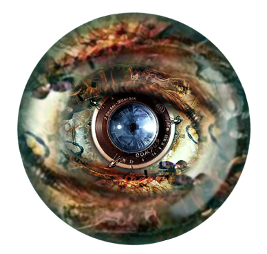 The Steampunk Eye Follows You