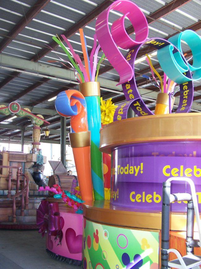 Magic Kingdom Parade Floats Magic Kingdom Walt Disney World Orlando, Florida