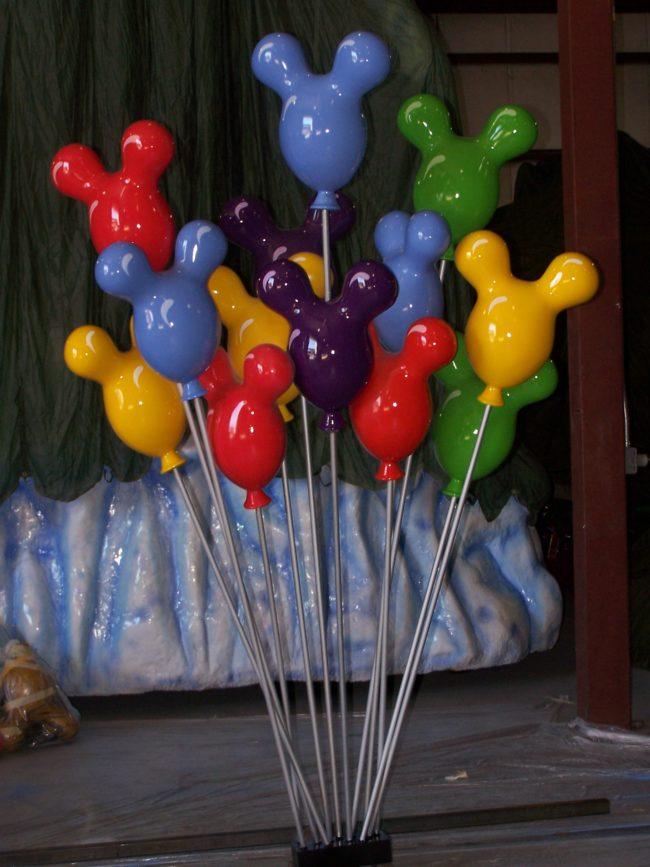 Magic Kingdom Parade Float Balloon Sculptures Magic Kingdom-Walt Disney World-Orlando, Florida