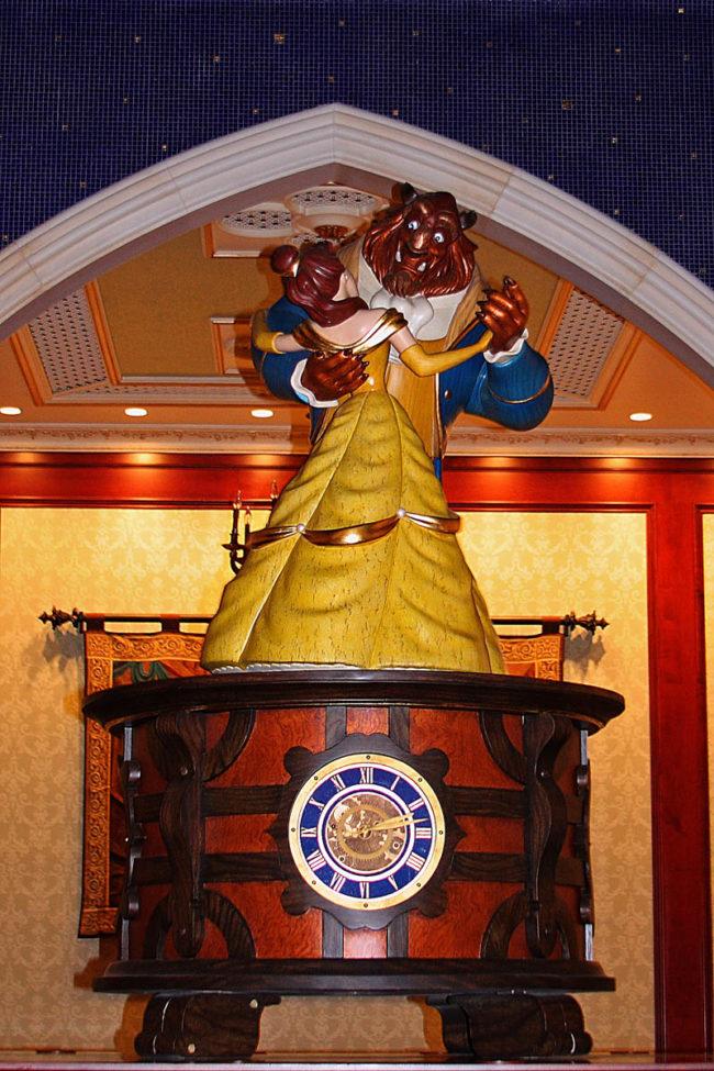 Beast and Belle Magic Kingdom Fantasyland Walt Disney World Orlando, Florida