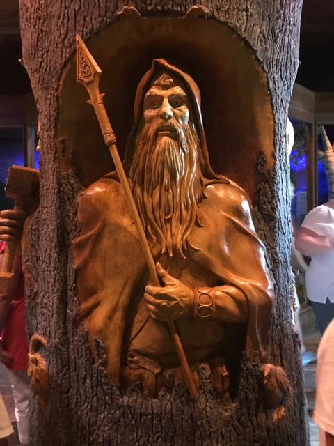 Odin-Gods of the Vikings Stave Church  Norway Epcot Magic Kingdom  Orlando Florida