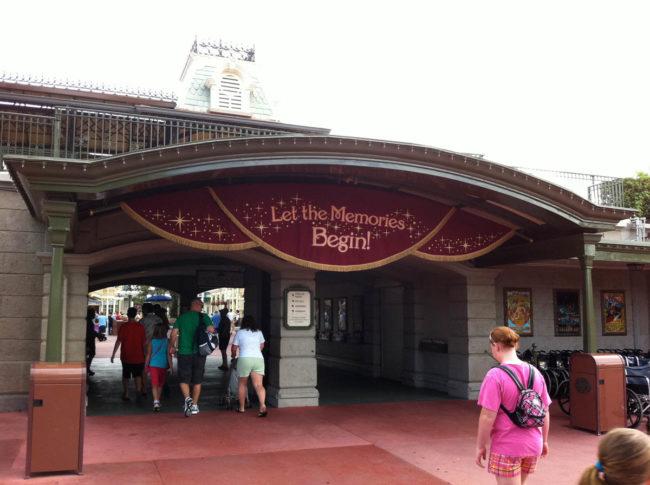 Magic Kingdom Entryway Portals Magic Kingdom-Walt Disney World-Orlando, Florida