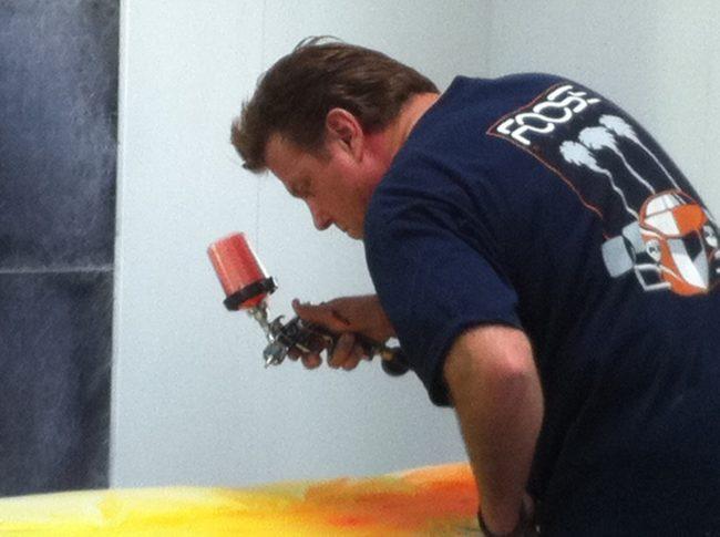 Chip Foose Walt Disney Imagineering  Ramone Paint Project