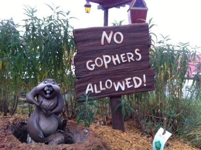 Winnie the Pooh Ride Signage Magic Kingdom Walt Disney World Orlando, Florida