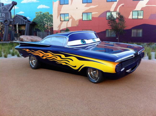 Ramone Pixar Cars Disney's Art of Animation Resort Orlando, Florida