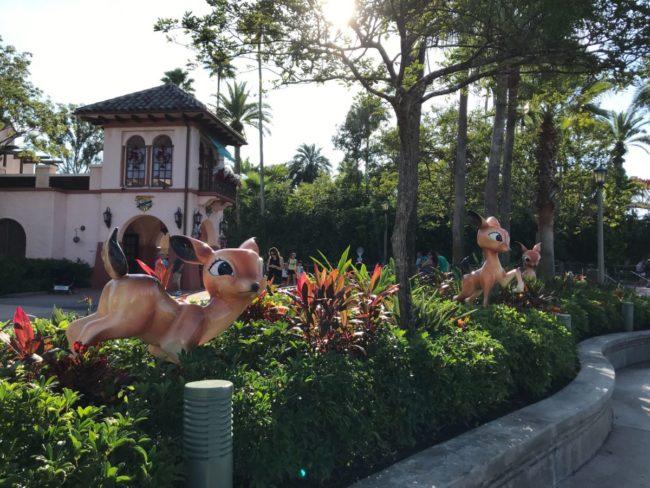 1950's Ceramic Deer Hollywood Studios Walt Disney World Orlando, Florida