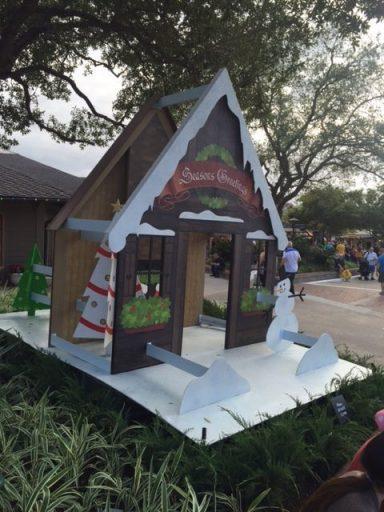 Aluminum Holiday Pop Up Cards Disney Springs Orlando, Florida