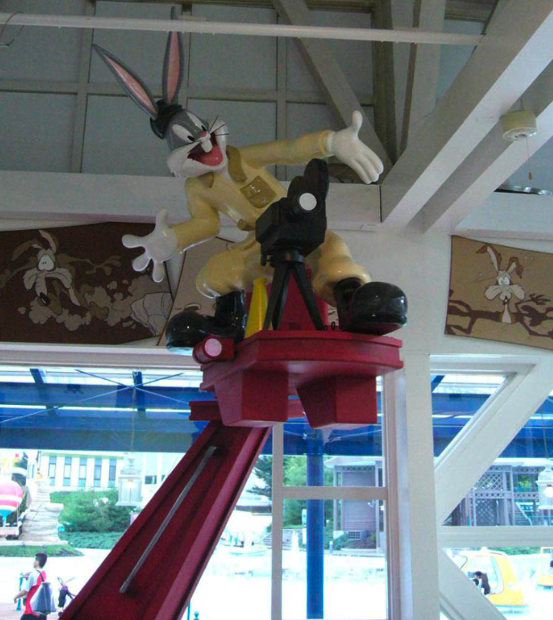 Bugs Bunny Retail Outlet in Tokyo, Japan