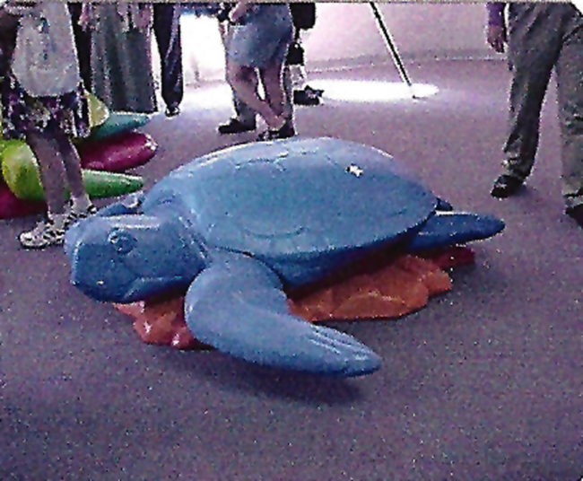 Peter Max Logger Head Turtles The Clearwater Marine Aquarium Clearwater, Florida
