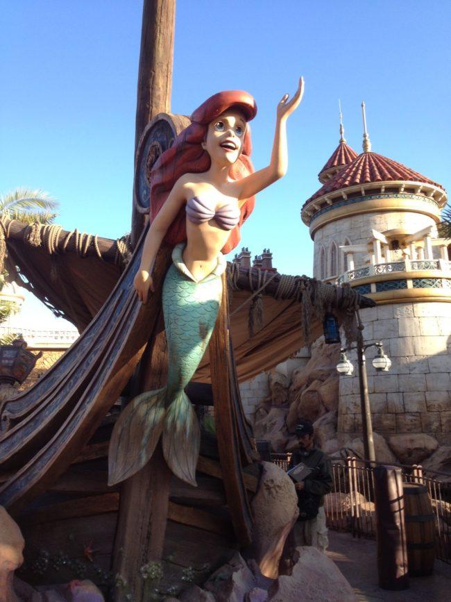 Ariel The Little Mermaid Magic Kingdom Walt Disney World Orlando, Florida