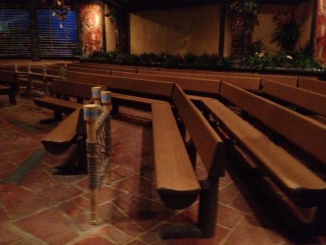 Tiki Room Seating Magic Kingdom Walt Disney World Orlando, Florida