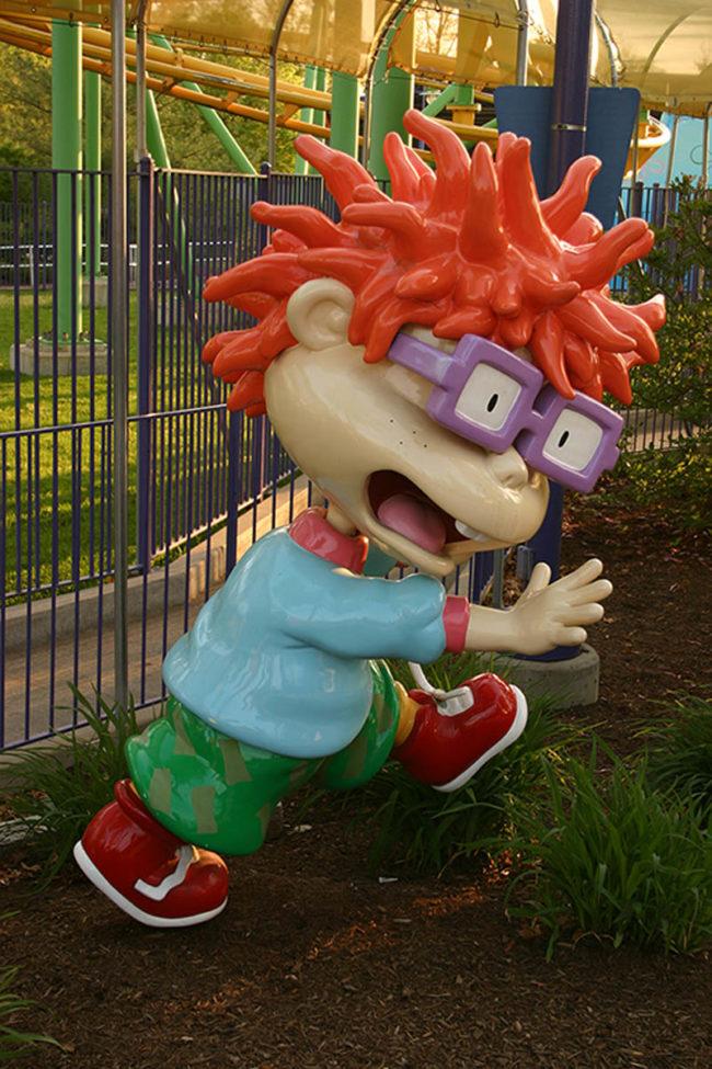 Chucky The Kings Island Park, Cincinnati, Ohio, USA
