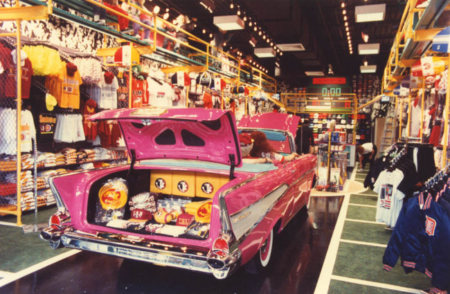 57 Chevrolet Bel Air F.W.Woolworth Corporation 50 Worldwide Retail Locations