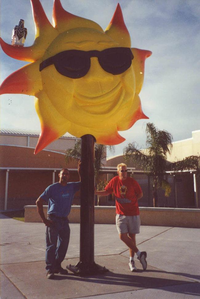 Sun Sculpture Elementary School Safety Harbour, Florida.