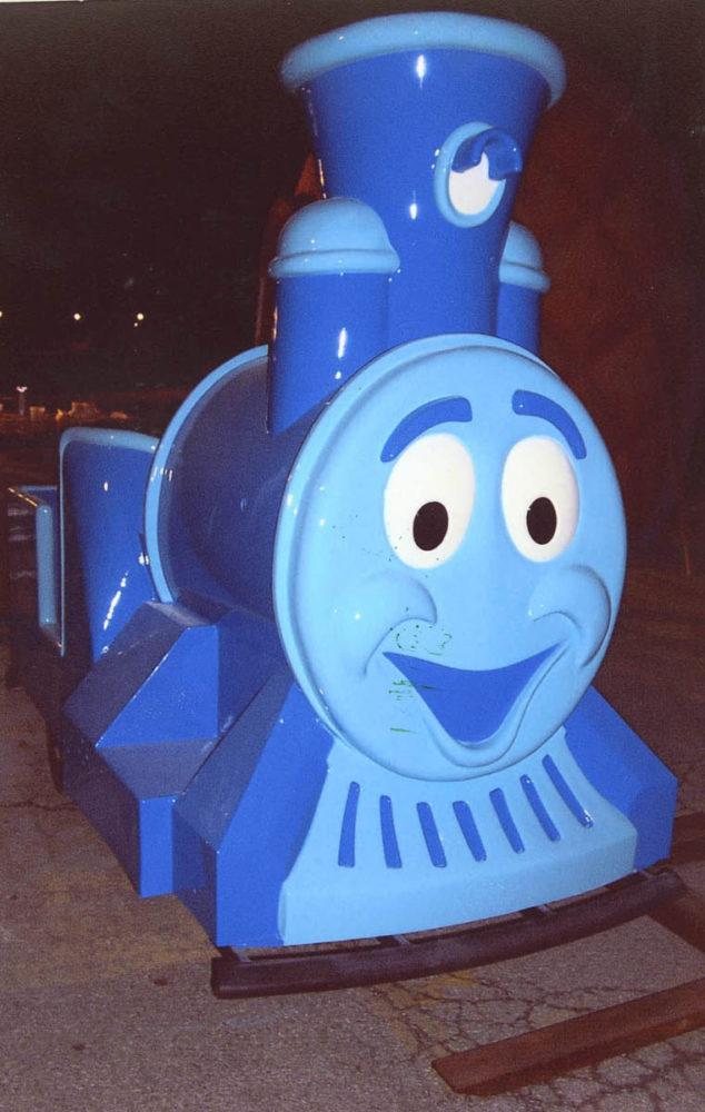 Azul the Train The Kings Island Park, Cincinnati, Ohio, USA