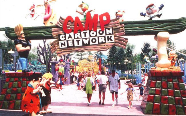 Camp Cartoon Network Six Flags Theme Park