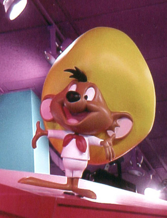 Speedy Gonzales Sculpture-2′ tall Several retail outlets worldwide