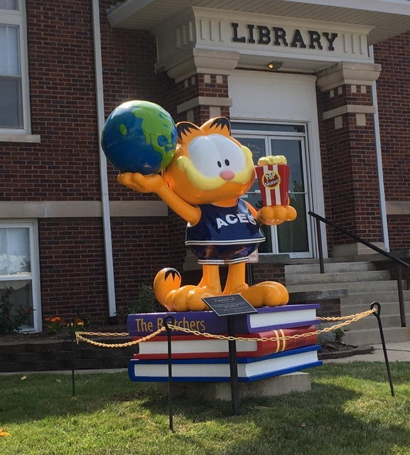 Garfield Sculpture PAWS Corporation