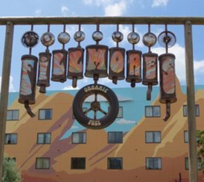 Doc Pixar Cars Disney's Art of Animation Resort Orlando, Florida