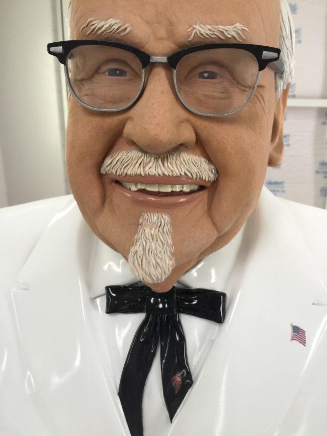 Colonel Sanders Fiberglass Sculpture