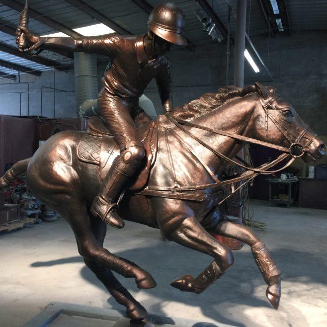 Bronze Horse Sculpture Dallas Polo Club Dallas, Texas