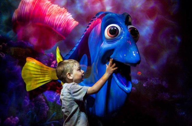 Dory Pixar\'s Nemo Magic Kingdom Orlando, Florida